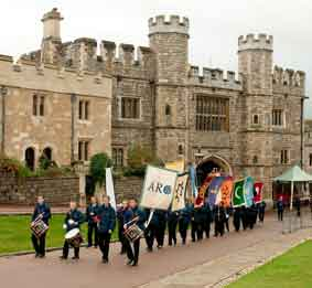 Procession to Windsor Castle